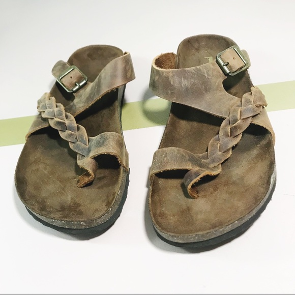 Hansen Leather Comfort Sandal Brown